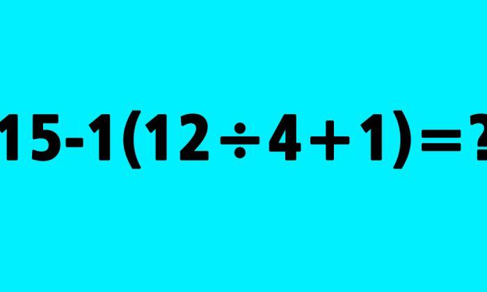 Relatively Simple Math Problem Stumps Many