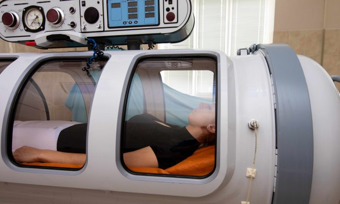 Hyperbaric oxygen therapy can be effective for several health conditions, but beware of those who oversell the treatment as a cure-all. In some cases it can do more harm than good. (Nakleyka/Shuttertock)