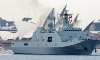 Chinese Naval Warships Stock Up on Baby Formula Before Leaving Sydney