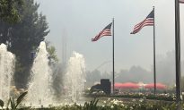Brush Fire Prompts Evacuation of Southern California Amusement Parks