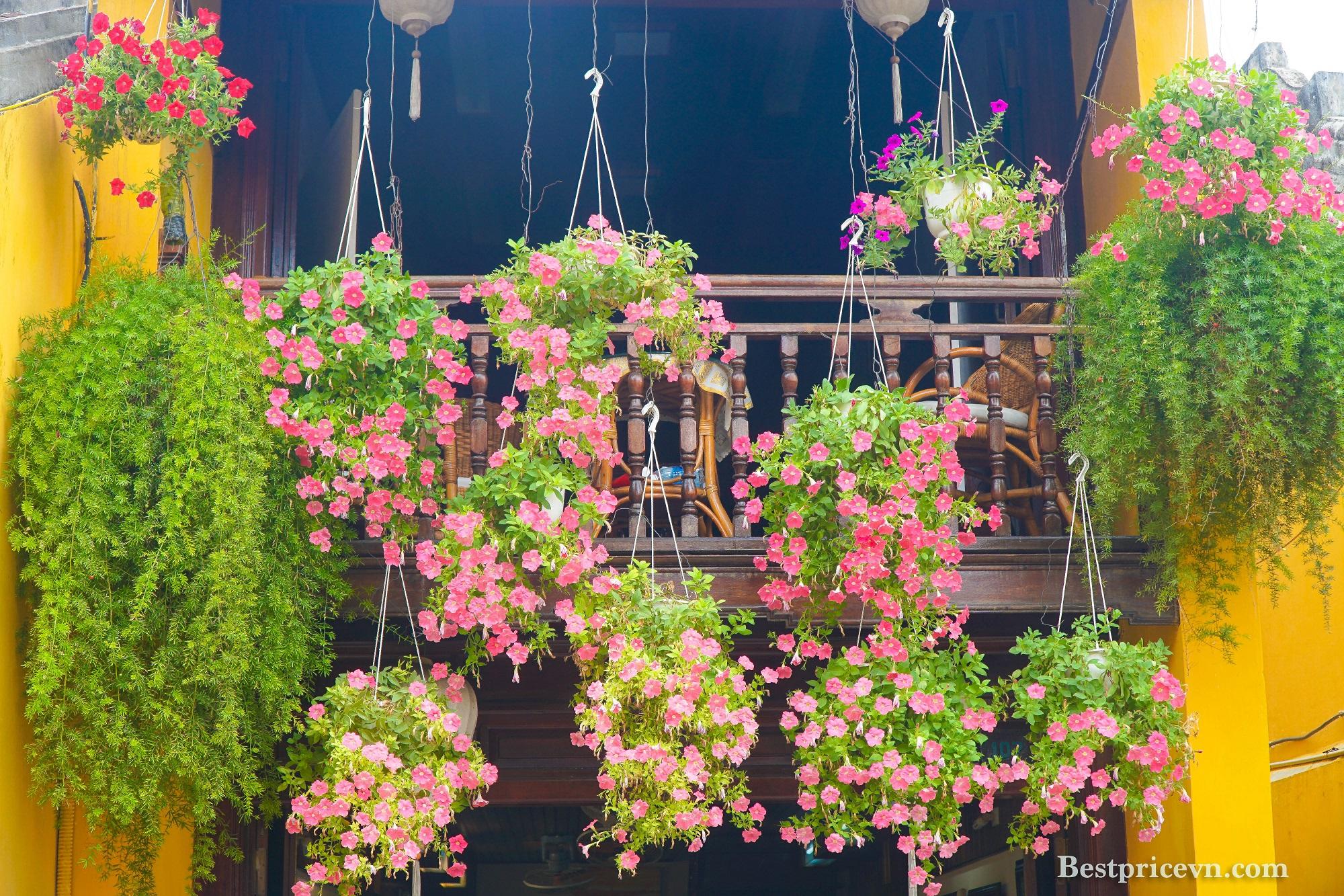 balcony view hoi an vietnam