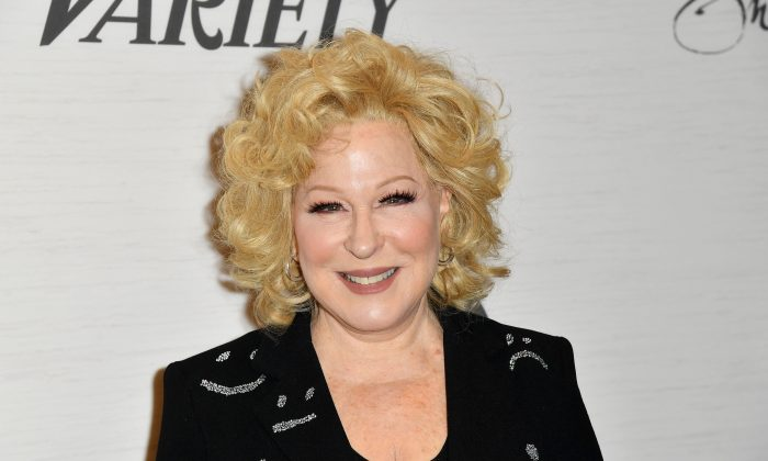 Actress Bette Midler attends Variety's Power of Women: New York presented by Lifetime, at Cipriani Midtown in New York City on April 5, 2019.        (ANGELA WEISS/AFP/Getty Images)