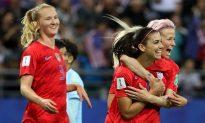 Morgan Has 5 Goals as US Routs Thailand 13-0