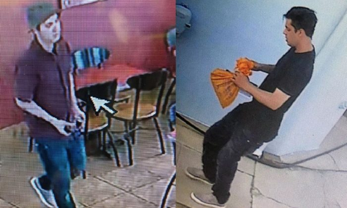 The man who authorities said was captured on surveillance footage shooting an off-duty Los Angeles County Sheriff's deputy in the head in a Jack in the Box in Alhambra, Calif. on June 10, 2019. (Los Angeles County Sheriff Department)