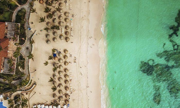 An aerial photo of Majestic Elegance Punta Cana, Bávaro - Provincia La Altagracia, Dominican Republic. (Justin Aikin/Unsplash)