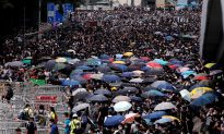Thousands of Protesters Paralyze Hong Kong's Financial Hub Over Extradition Bill
