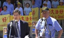 Rally in California Capitol Calls for End to Persecution and Organ Harvesting