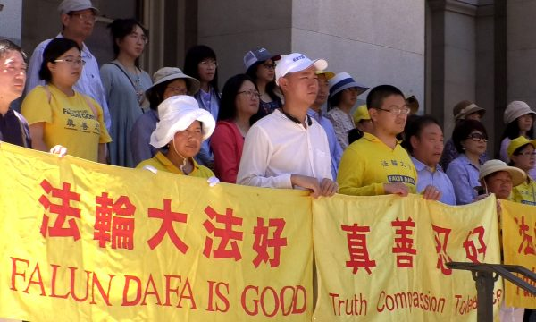 Falun gong rally persecution