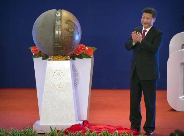 Xi Jinping AIIB
