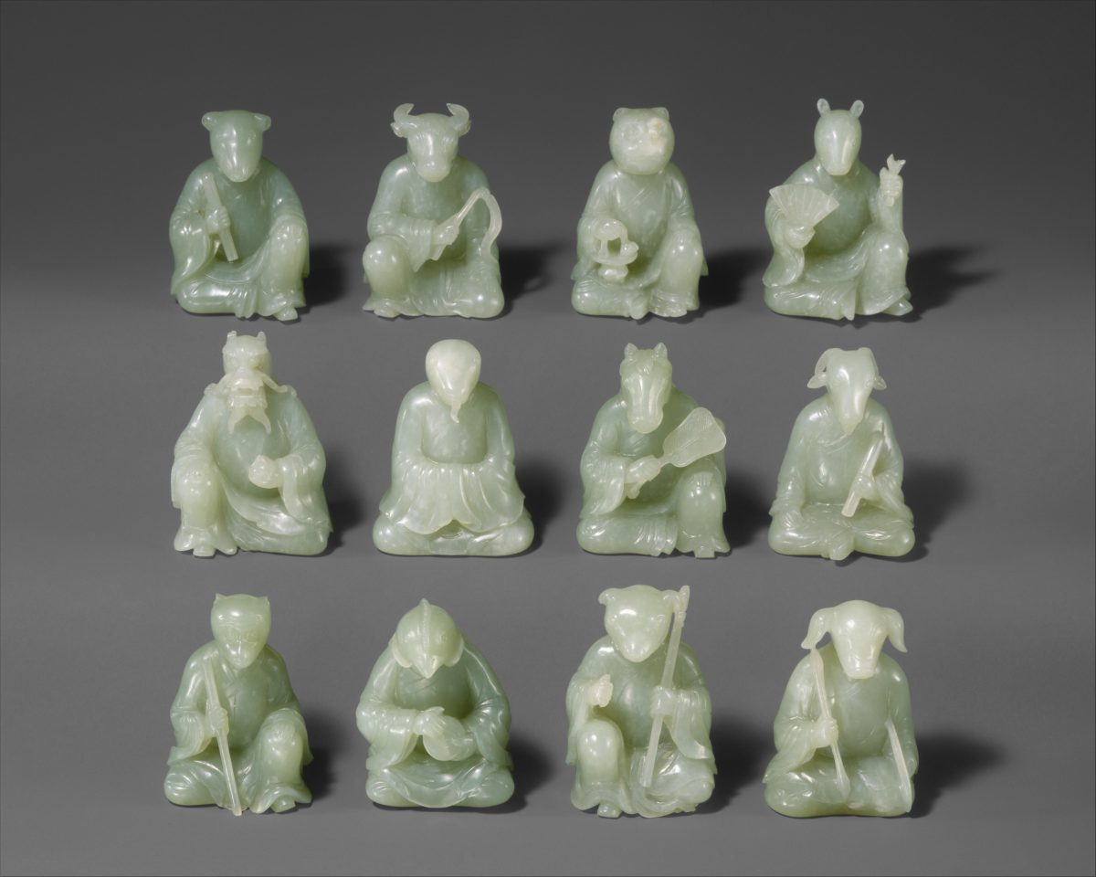 Chinese zodiac figurines