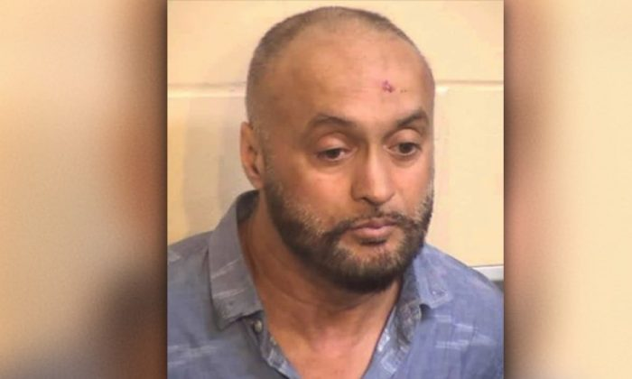 Satinerjit Singh Bali was arrested on DUI charges after hitting 14 vehicles in California on June 12, 2019. (California Highway Patrol)