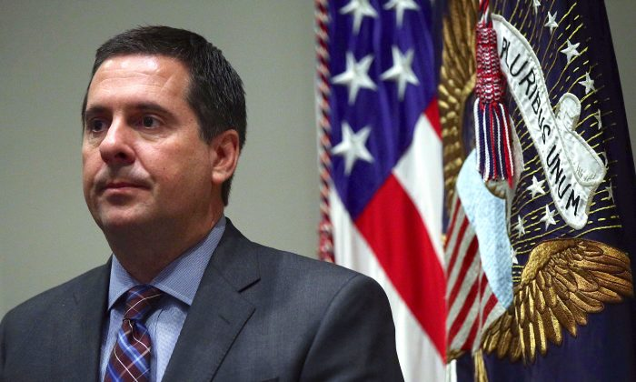Rep. Devin Nunes at the White House on May 9, 2019. (Alex Wong/Getty Images)