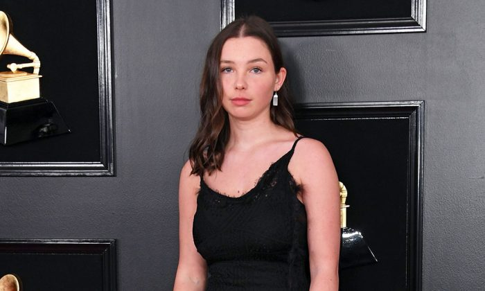 Lily Cornell Silver, 18, at the 61st Annual Grammy Awards pre-telecast show in Los Angeles, Calif., on Feb. 10, 2019. (Valerie Macon/AFP/Getty Images)