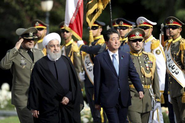 PM Shinzo Abe and Ali Khamenei 3