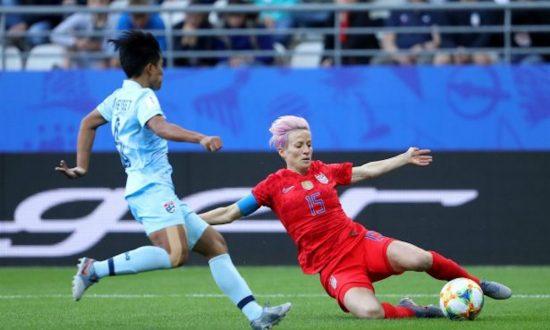 US Women's Soccer Team Captain Megan Rapinoe Felt 'Pride