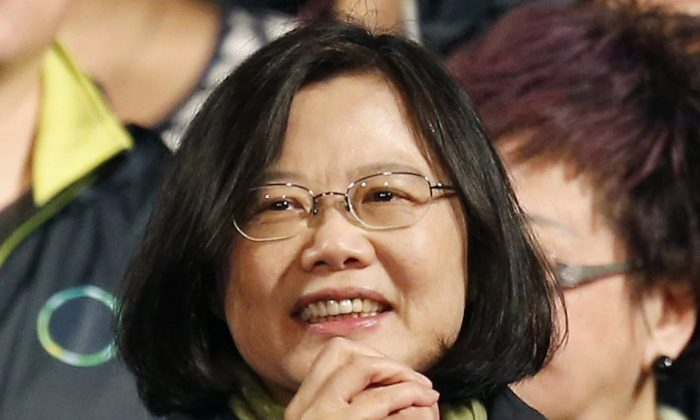 Taiwan leader Tsai has won a ruling party primary, setting up a likely run for re-election in January. The Democratic Progressive Party announced the primary results on June 13, 2019. (Wally Santana/AP)
