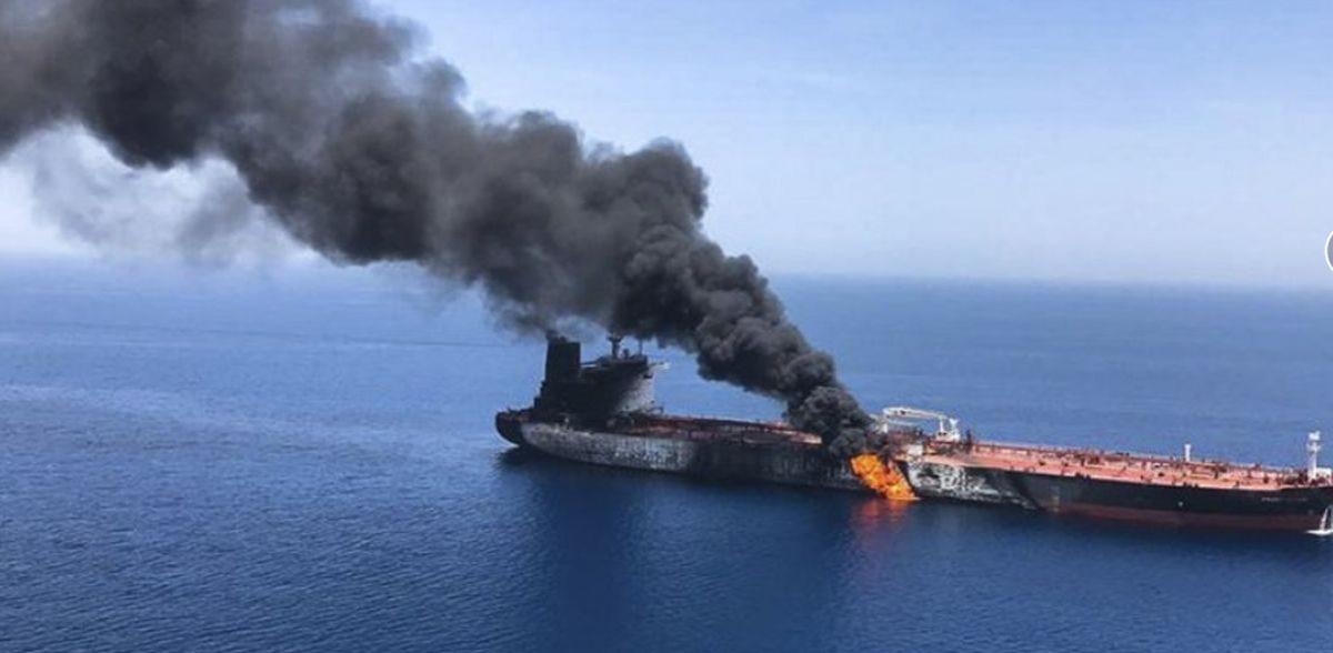 tanker oil -ap oman