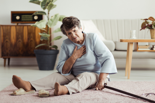Death rates from falls rose the most—6.4 percent— among people 95 and up.(Photographee.eu/Shutterstock)