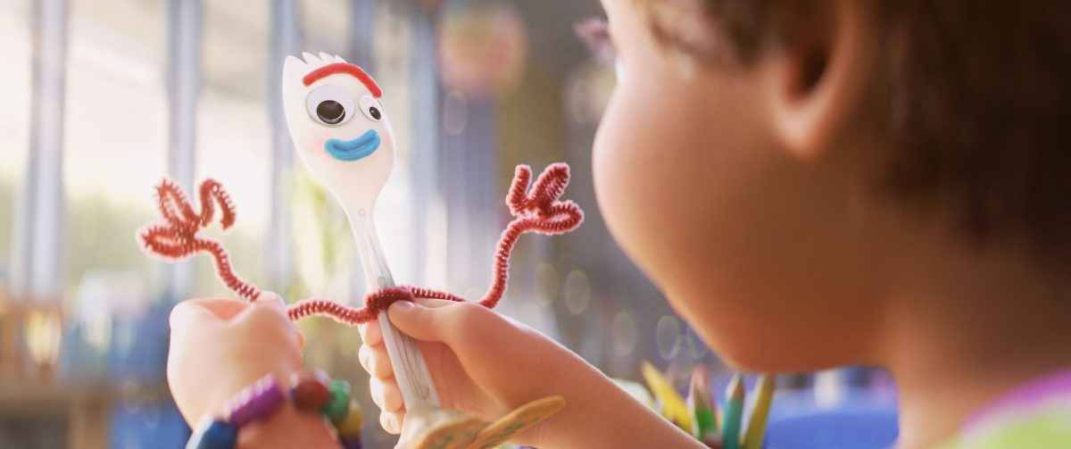 child-made toy named Forky