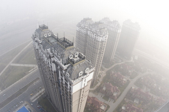 Harbin smog building