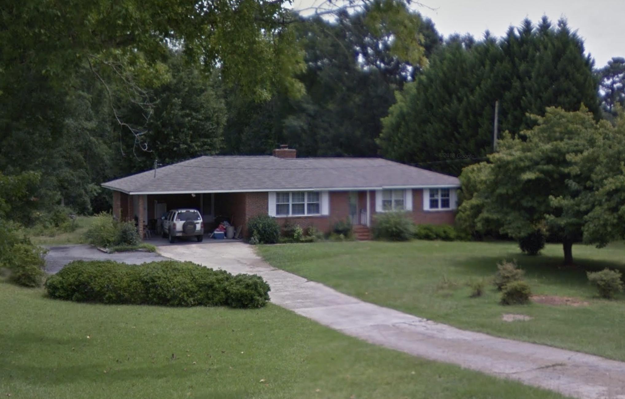 1224 Ethridge Mill Rd. Griffin, Georgia.