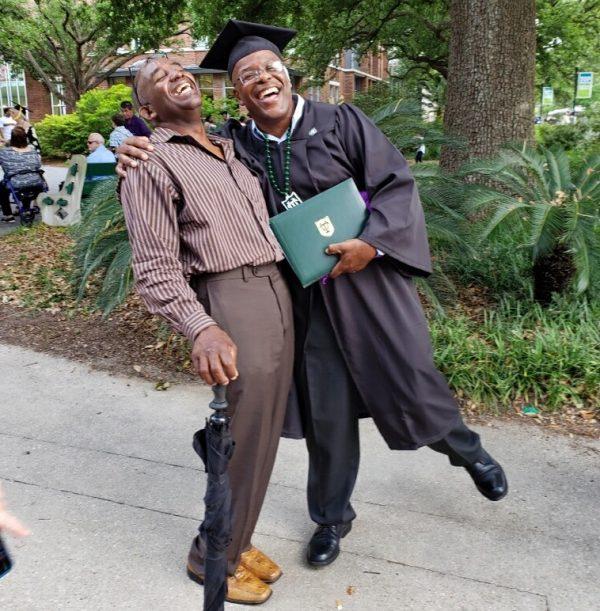 Duncan graduating