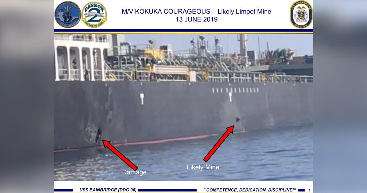 kokuka courageous iran oman oil tanker attack