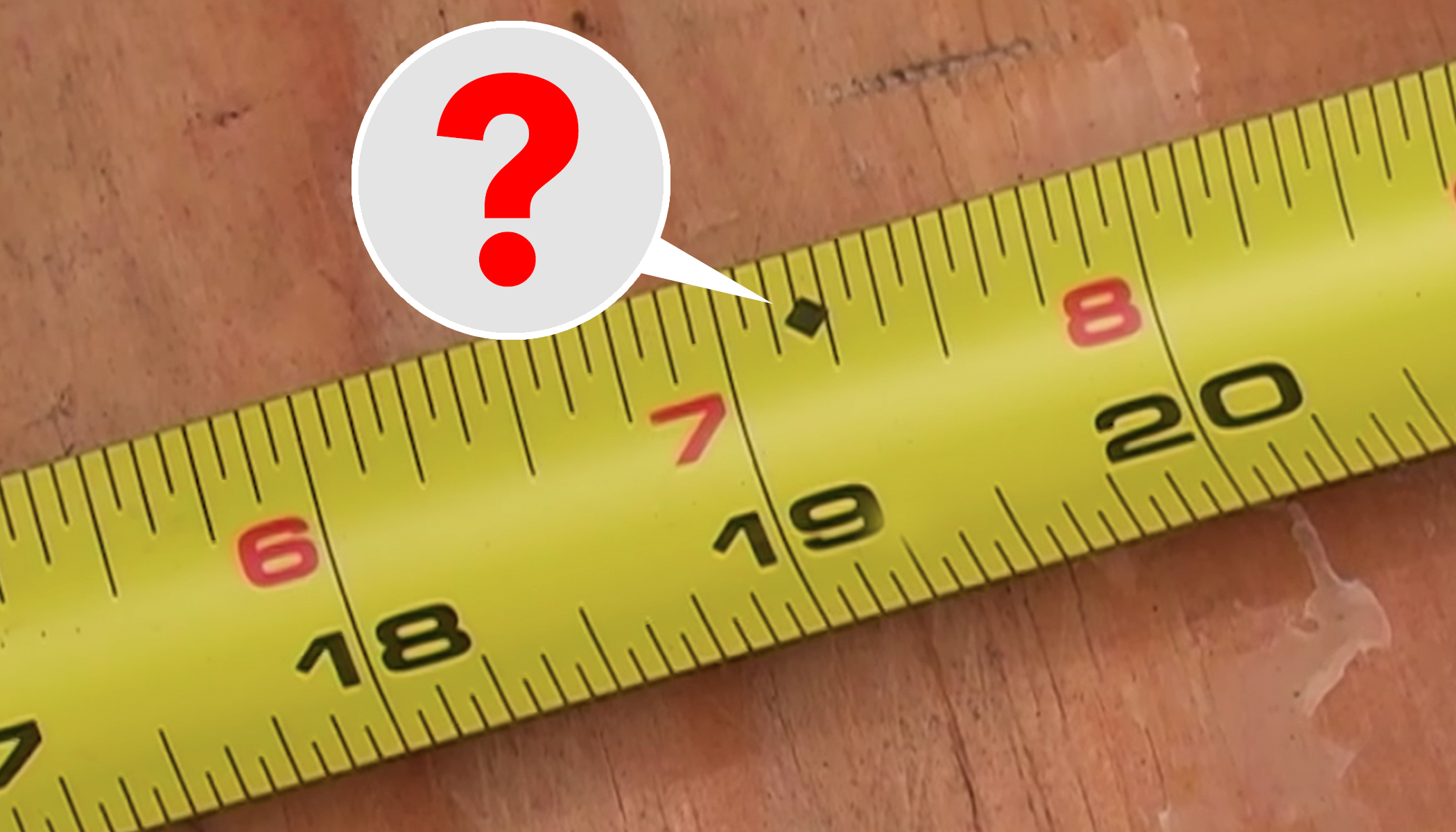 Do You Know the Purpose of Mysterious Black Diamonds on Measuring Tapes?
