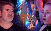 Simon Cowell Hits Golden Buzzer After Teen Cancer Survivor Sings 'Fight Song' at AGT