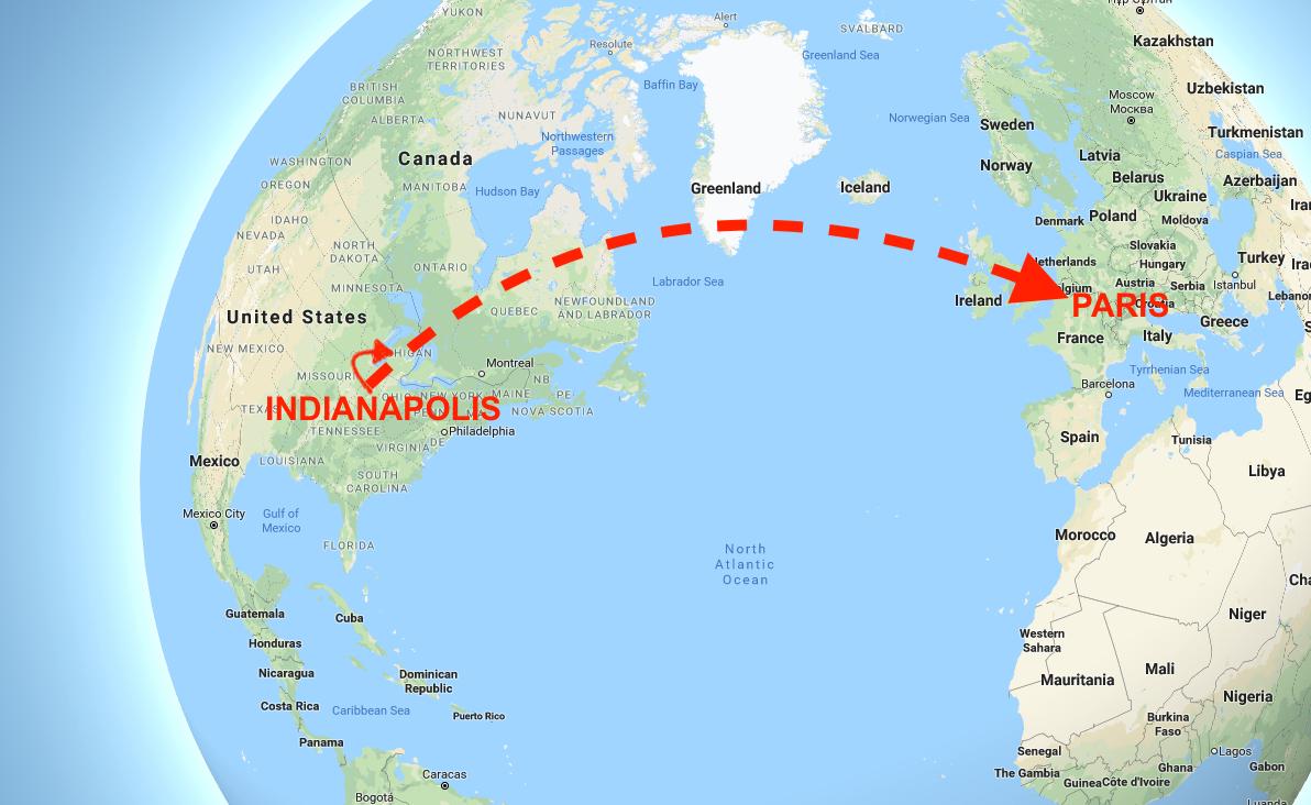 Paris-Bound Flight Diverted to Detroit After Unruly ...