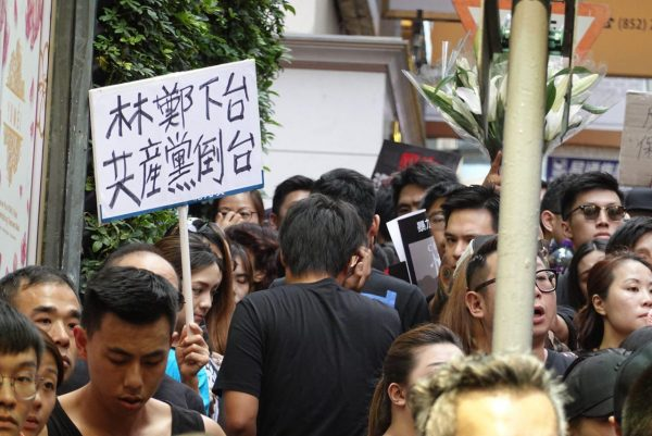 HK protest signs