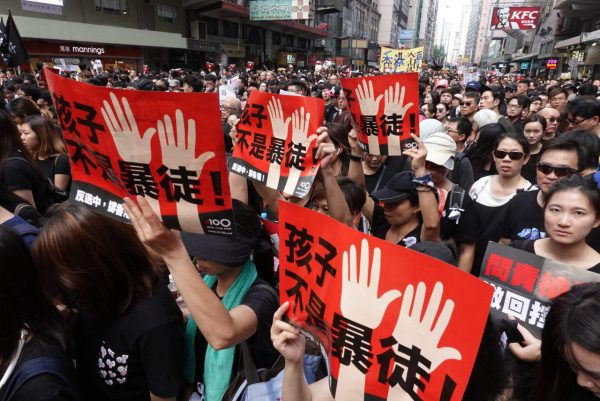 HK June 16 protest