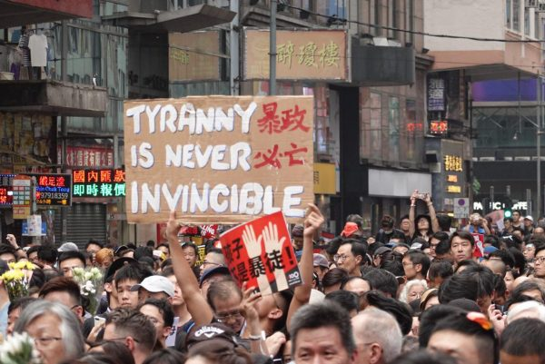 June 16 Hong Kong protest