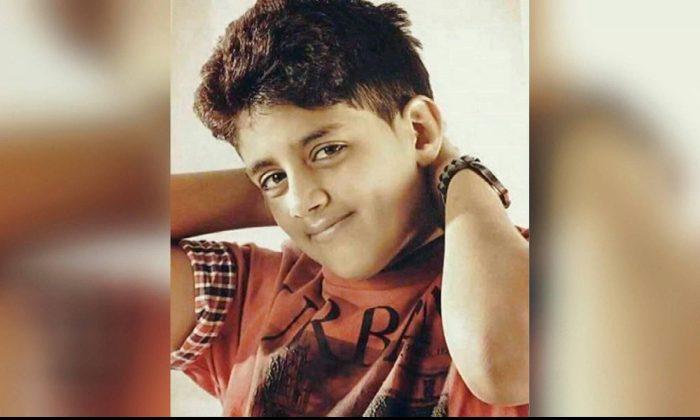 Murtaja Qureiris was 13 when he was arrested. (Photo via CNN)
