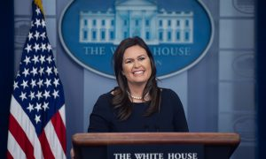 Sarah Sanders Posts Farewell Message as She Prepares to Leave White House