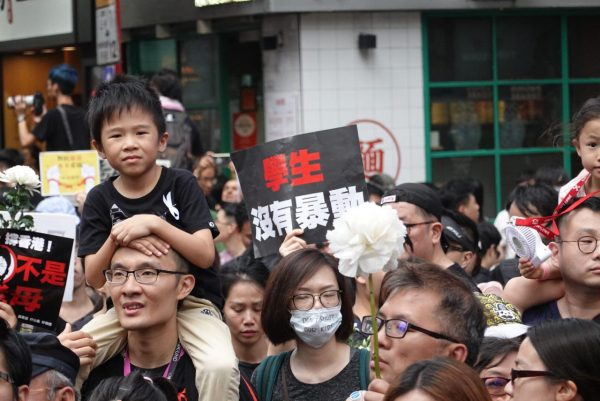 Young Hong Konger June 16 protest