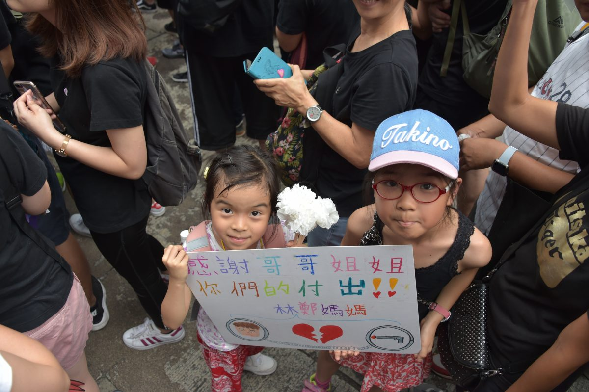 hong kong protest girls