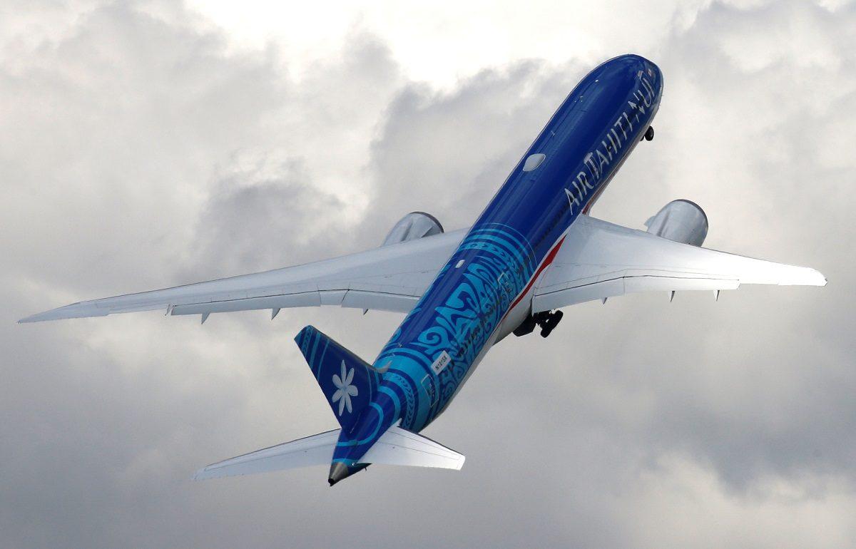 An Boeing 787-9 Dreamliner