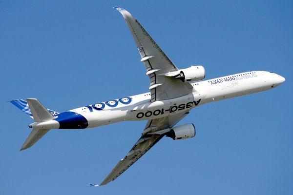 An Airbus A350-1000
