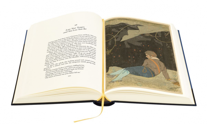"""Italian Folktales,"" compiled by Italo Calvino, republished by The Folio Society. (The Folio Society)"
