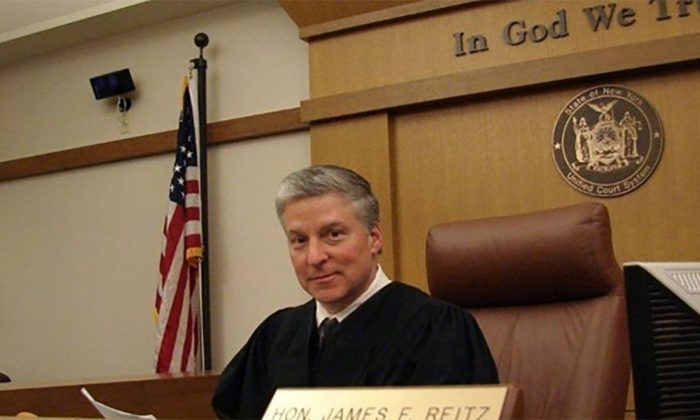 Putnam County Court Judge James Reitz. (Putman County via CNN)