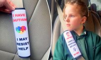 Mom Posts Photo of Daughter's Special-Needs Seatbelt Device–and It Goes Super Viral on Facebook