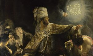 Rembrandt and 'The Writing on the Wall'