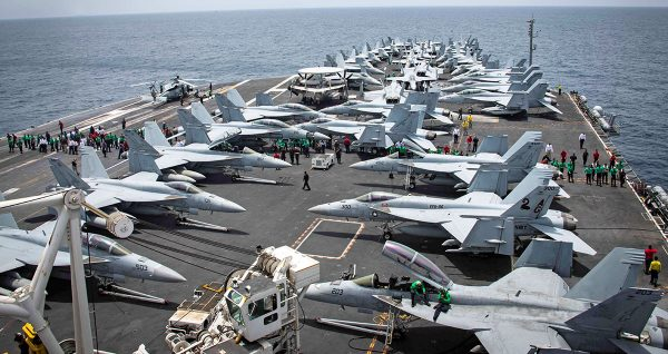 U.S. aircraft carrier USS Abraham Lincoln