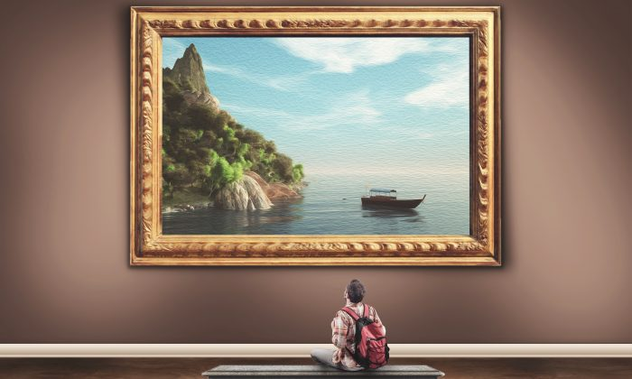 The beauty of fine art can do more than lift the spirit, it can help calm the body's over-active stress response.(Alberto Andrei Rosu/Shutterstock)