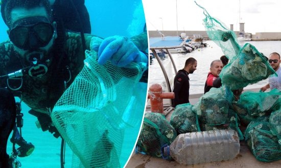Team of 633 Scuba Divers Collect 3,200 lbs of Underwater Garbage–Setting New World Record