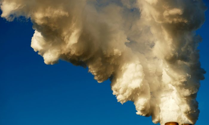 Steam rises from Duke Energy's Marshall Power Plant in Sherrills Ford, North Carolina, on Nov. 29, 2018. (Chris Keane/REUTERS)