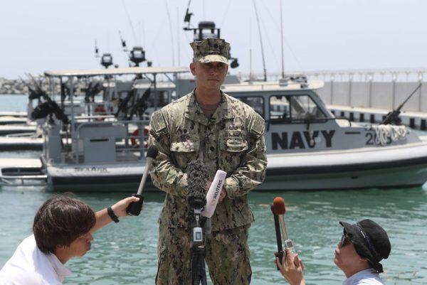 Commander Sean Kido US