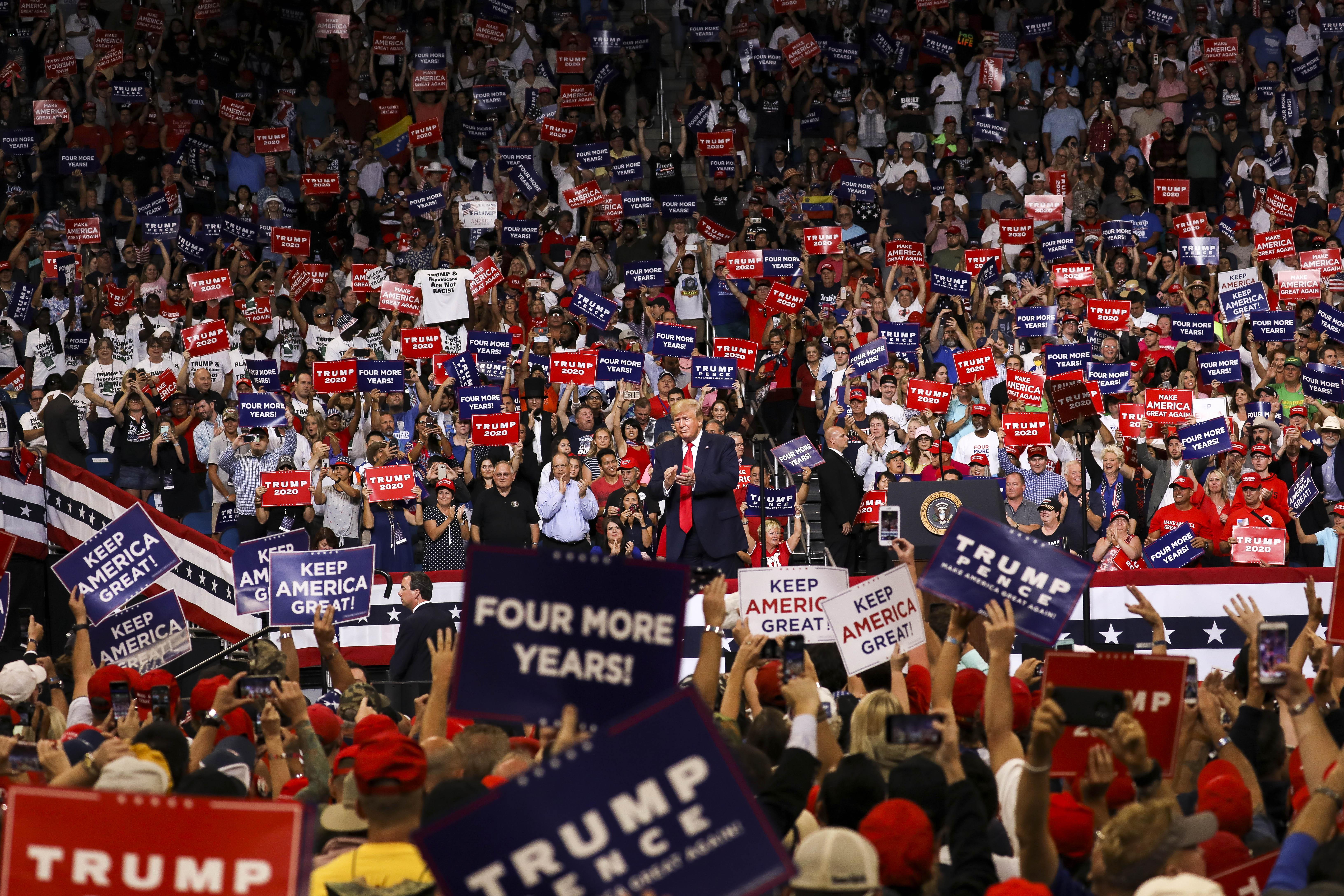 Trump 2020 florida orlando