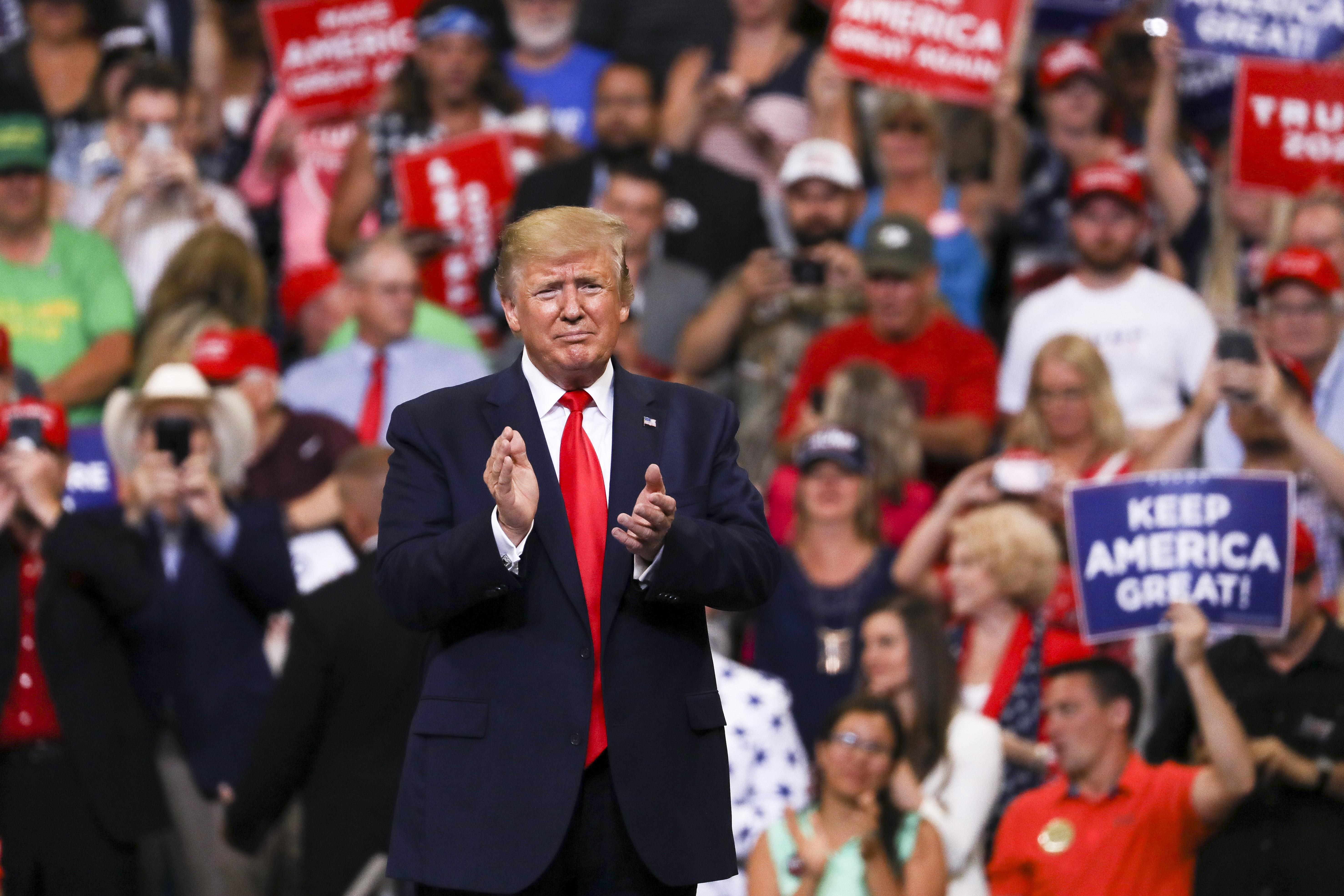 Trump Epoch Times Orlando 2020